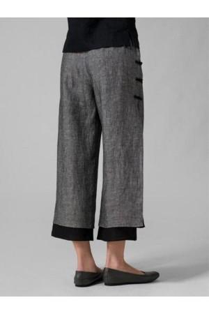 Women Casual Cotton Bottoms Pants