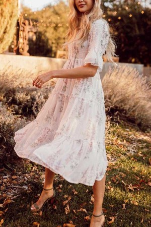 Wandering Willoughby Maxi Dress