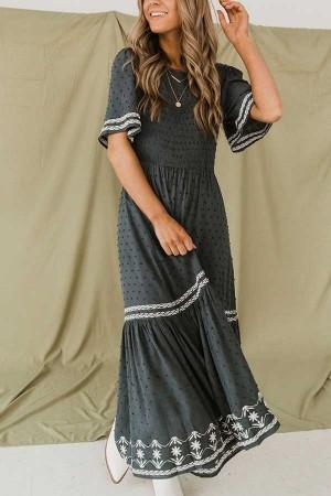 Karlin Indigo Maxi Dress