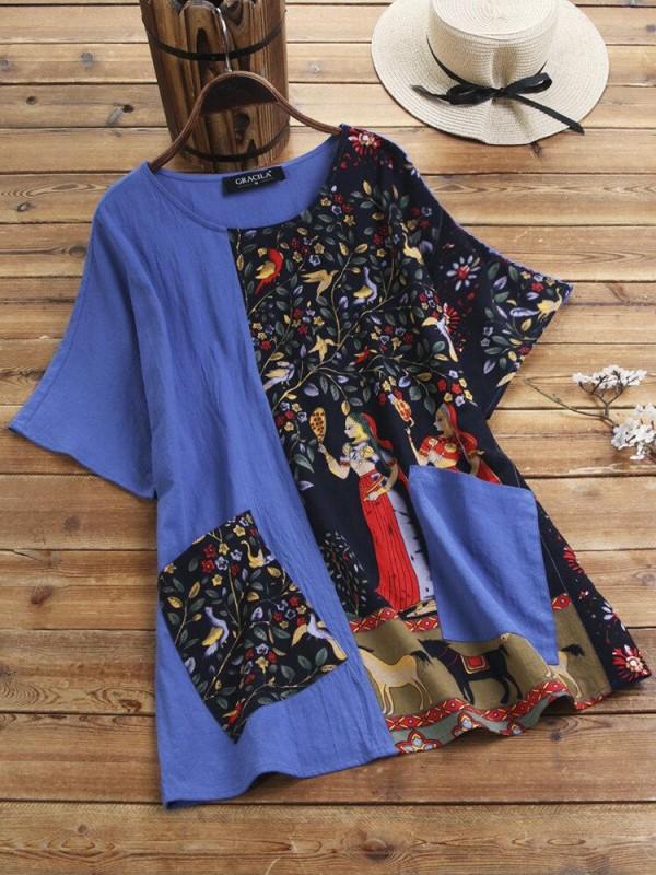 Women's Print Maxi Dress
