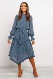 Hillel Dress  Blue