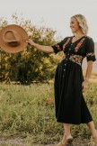 Ithaca Embroidered Maxi Dress